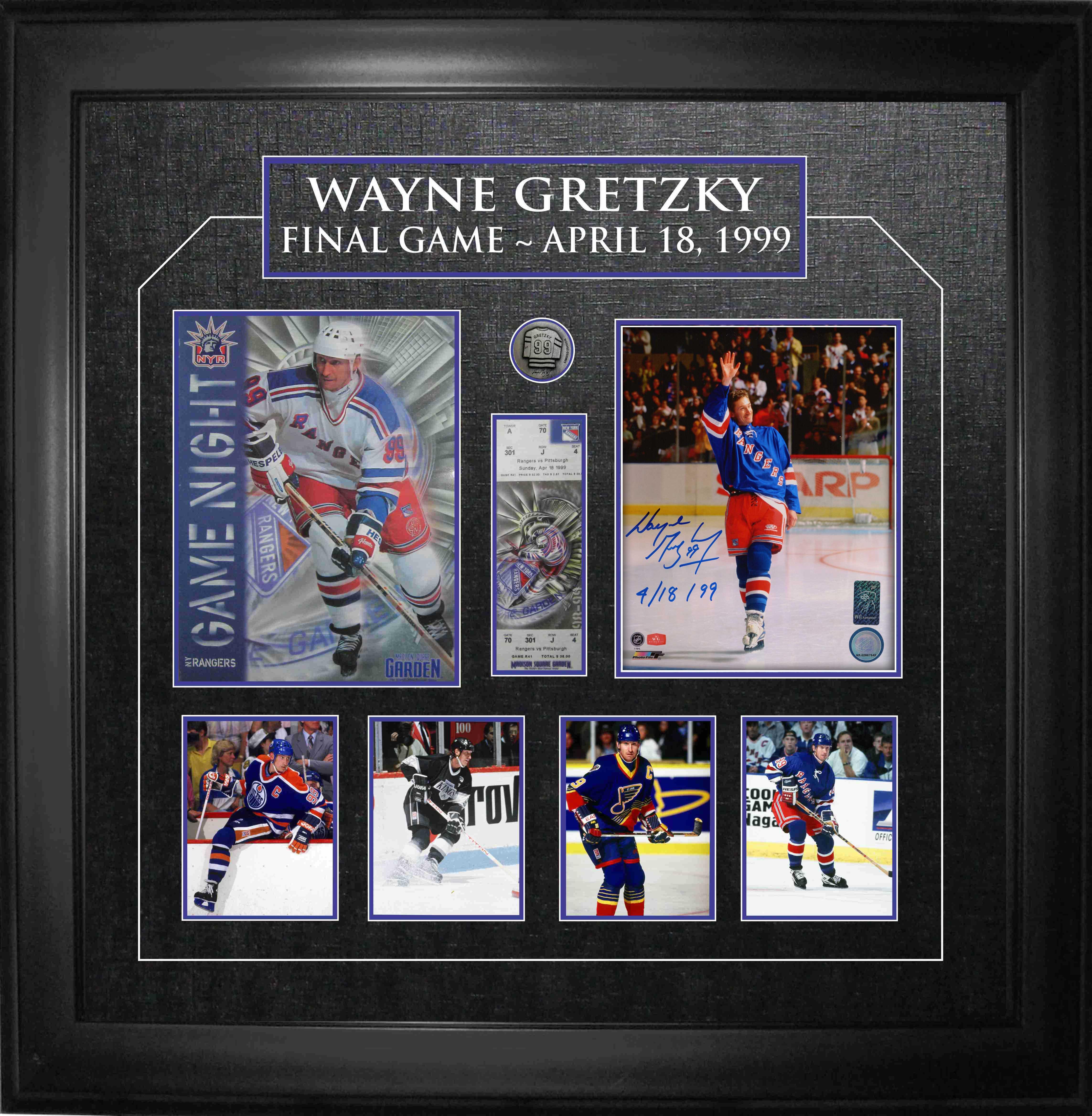 Lot Detail - Wayne Gretzky Signed & Inscribed 8x10\
