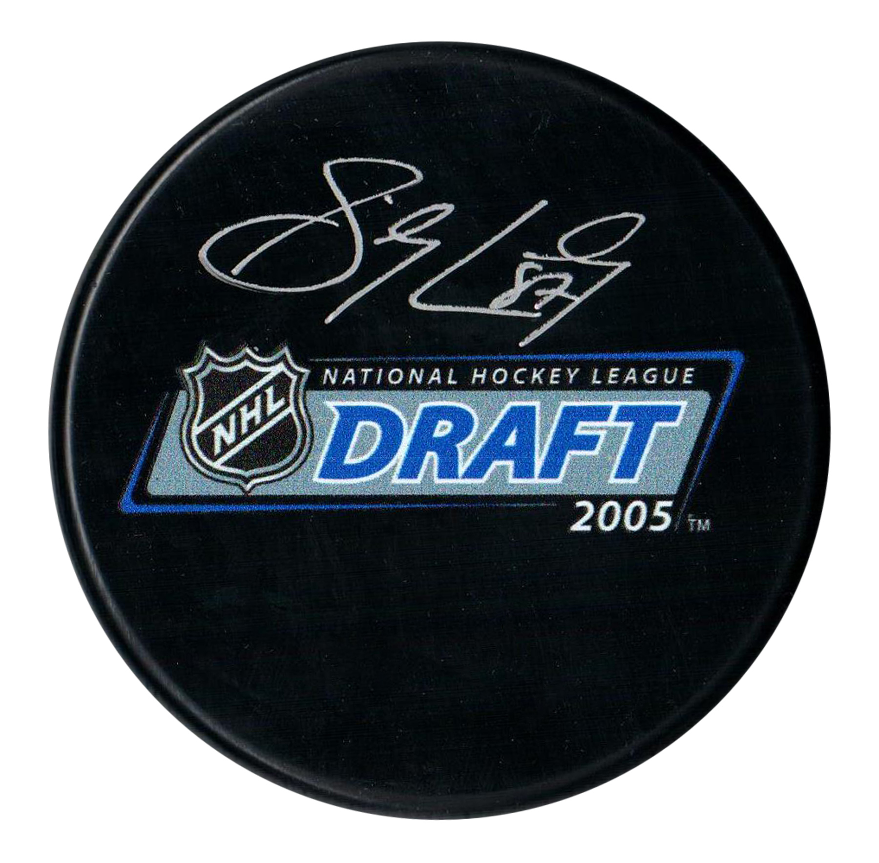 Lot Detail - Sidney Crosby Signed 2005 NHL Draft Puck 98532f780f5