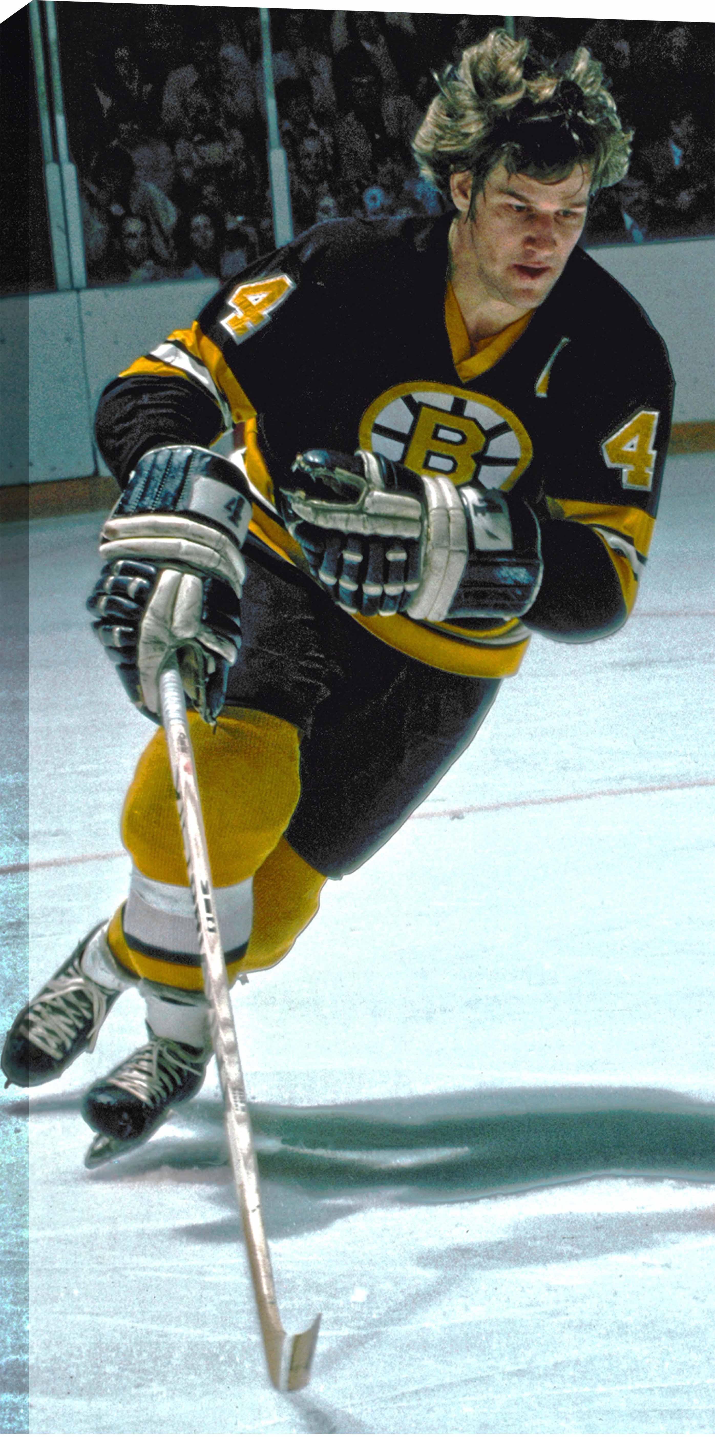 Item Detail Bobby Orr 14x28 Quot Canvas Bruins