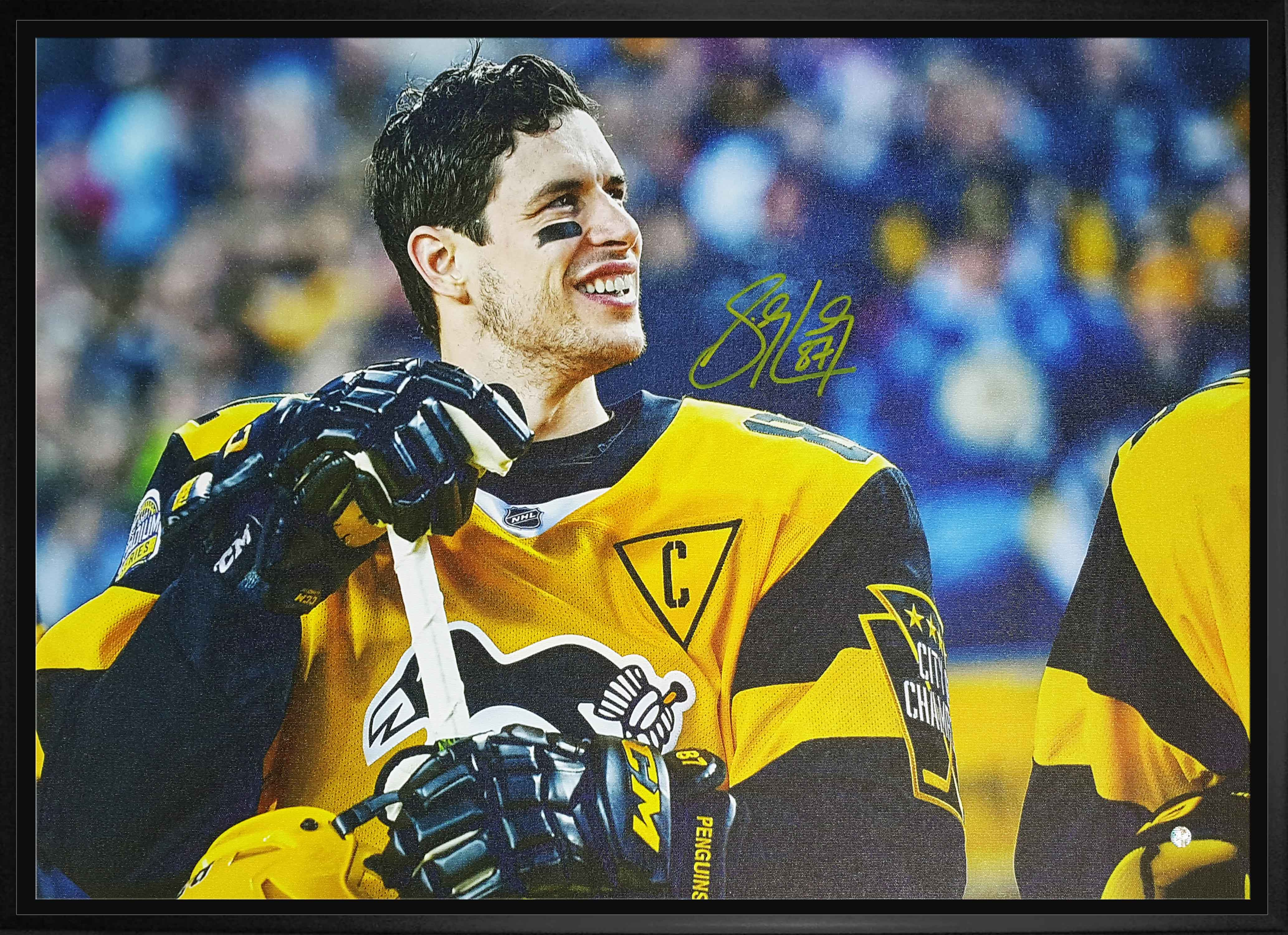 release date: e484b 987d6 Lot Detail - Sidney Crosby - Signed & Framed 20x29