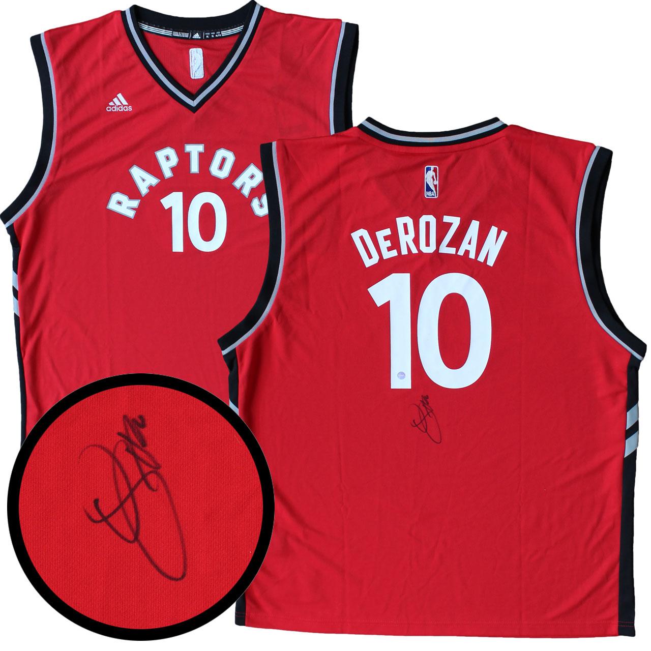 buy online 810b3 b64ef Item Detail - DeMar DeRozan Signed Jersey, Toronto Raptors ...