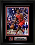Kyle Lowry 8x10 Framed Photo with Toronto Raptors Pin and Plate…