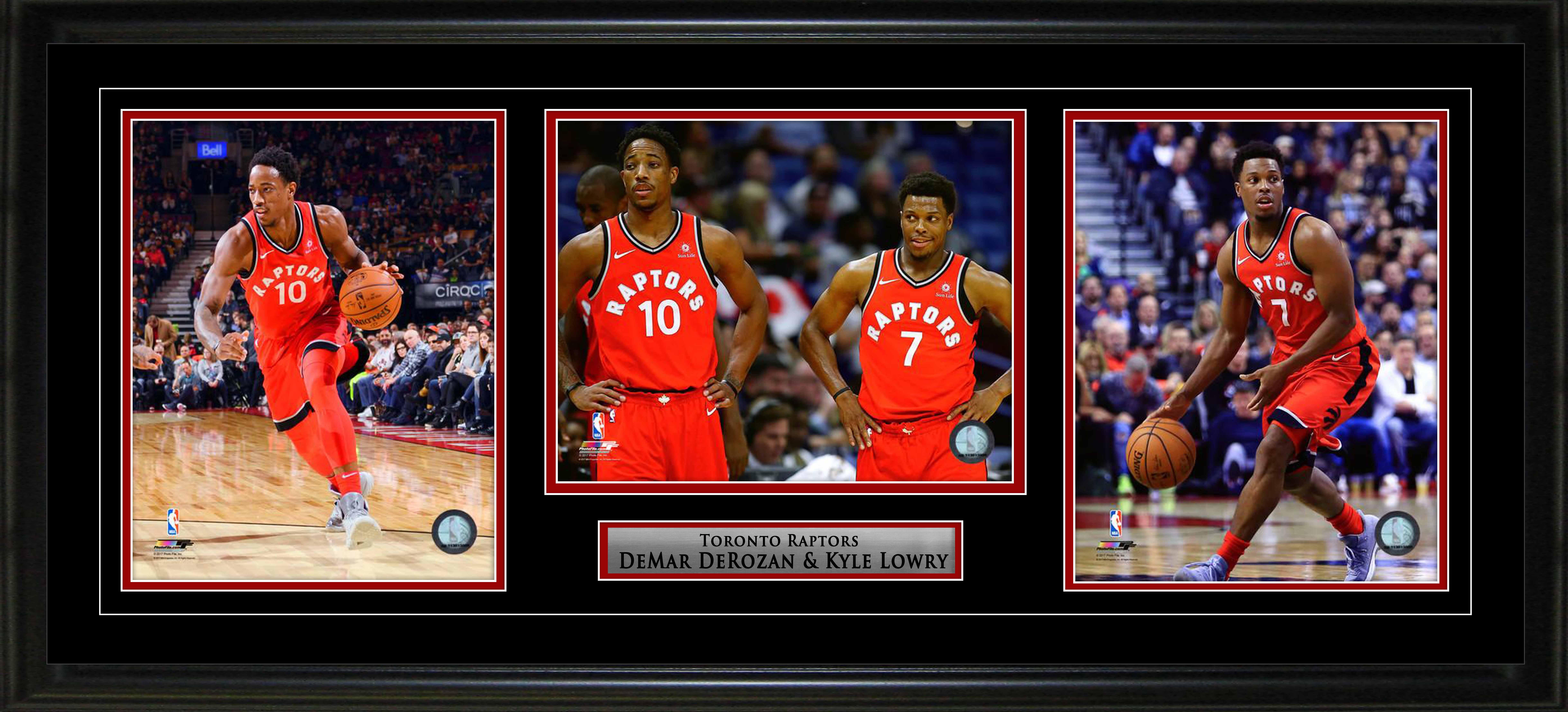 Item Detail Kyle Lowry Amp Demar Derozen Toronto Raptors