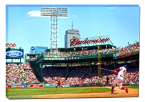 Mookie Betts 20x29 Canvas Red Sox At Bat