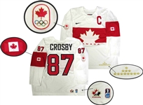 Sidney Crosby - Signed Canada 2014 Olympics White Jersey