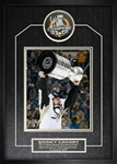 "Sidney Crosby - Signed & Framed Puck 2016 Stanley Cup Penguins Featuring 8x10"" Cup Photo"
