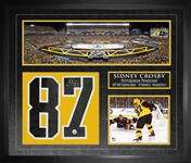 Sidney Crosby - Signed Numbers Framed Penguins Collage 2017 Stadium Series