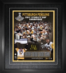 "Sidney Crosby - Signed & Framed 16x20"" Collage 2017 Stanley Cup"