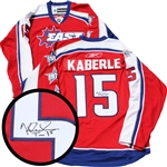 Tomas Kaberle Signed Jersey All Star East Replica Red 2008 Jersey