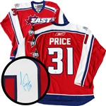 Carey Price Signed Jersey All-Star 2009 Red Replica