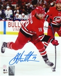 Dougie Hamilton, Signed 8x10 Unframed Hurricanes Shooting