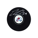 Nathan MacKinnon, Signed Puck Avalanche