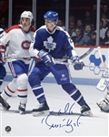Mike Krushelnyski, Signed 8x10 Unframed Leafs