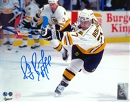 Ray Bourque, Signed 8x10 Unframed Bruins Slapshot