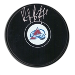 Ray Bourque, Signed Puck Avalanche