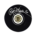 Rick Middleton, Signed Puck Bruins