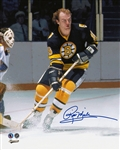 Rick Middleton, Signed 8x10 Unframed Bruins