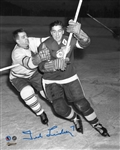 Ted Lindsay, Signed 8x10 Unframed Red Wings